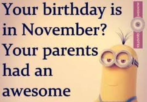 Your Birthday Is In Funny Birthday Quotes