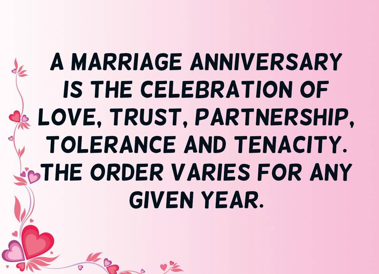 A Marriage Funny Anniversary Quotes