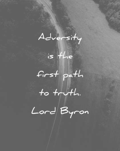 Adversity Is The First Pain Quotes