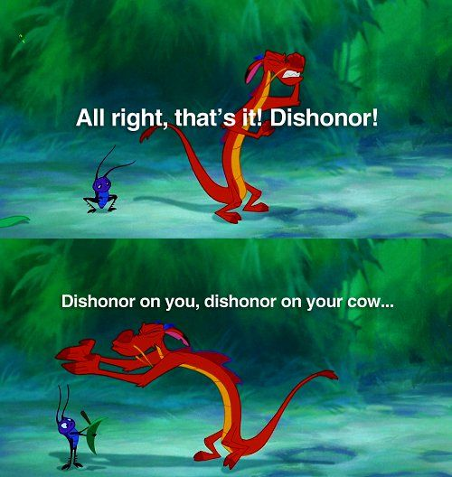 All Right That's It Mushu Quotes