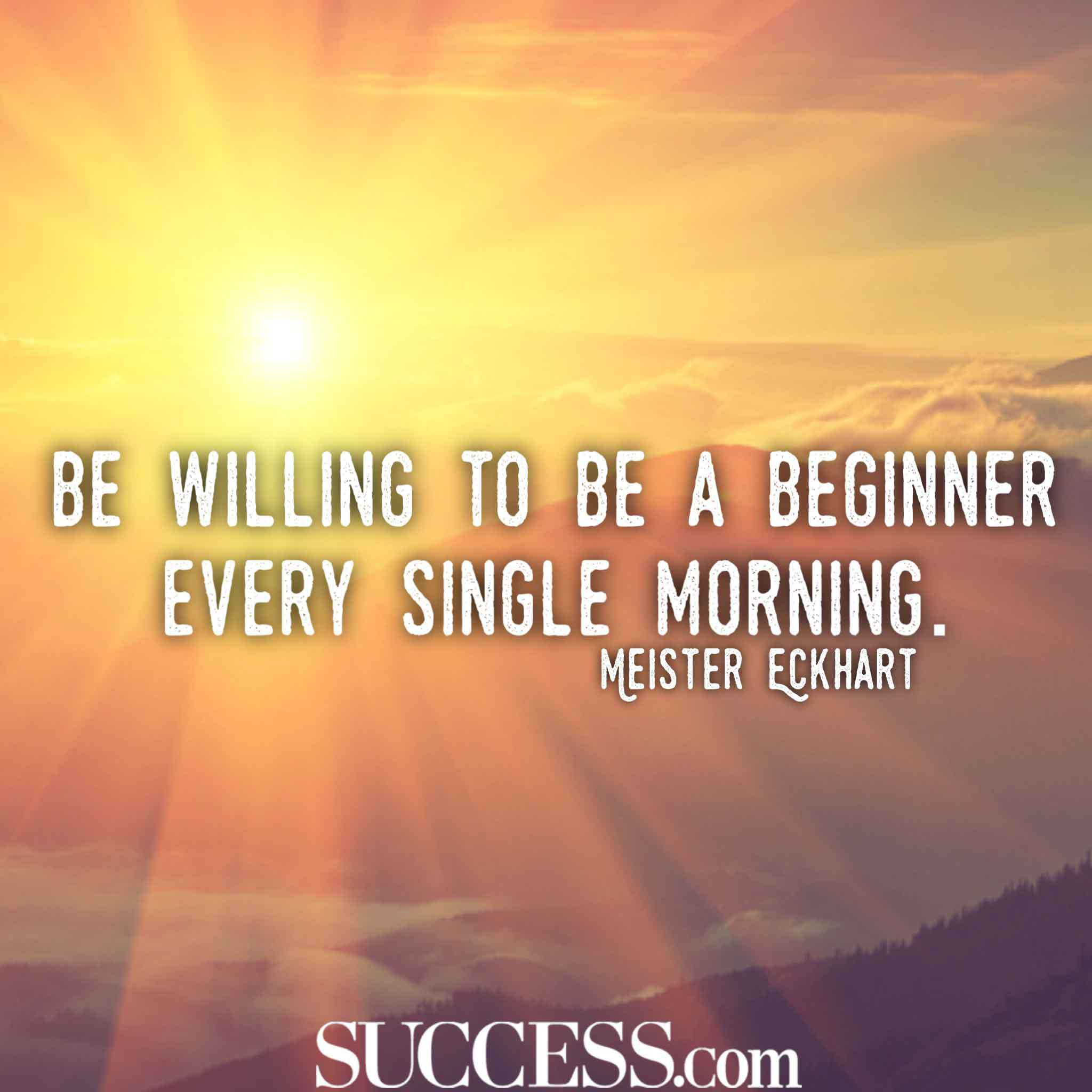 Be Willing To Be New Life Quotes