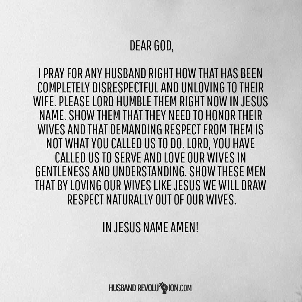 Dear God I Pray For Any