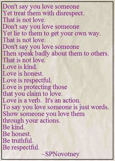 Don't Say You Love Someone