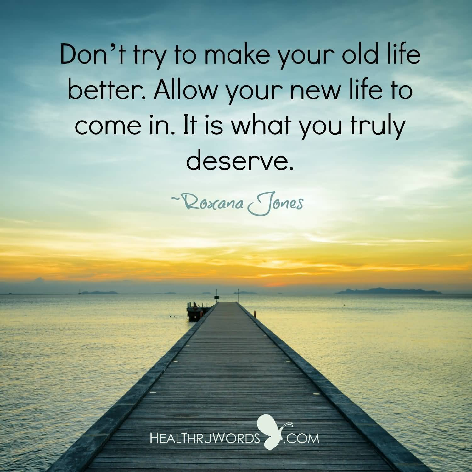 Don't Try To Make New Life Quotes