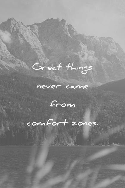 Great Things Never Came Pain Quotes