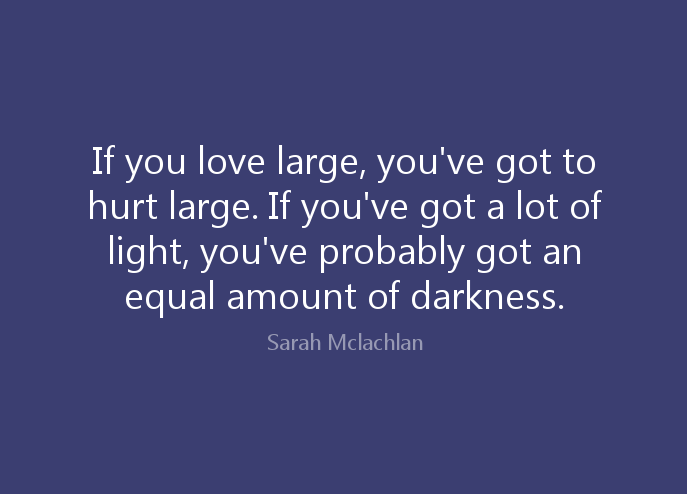If You Love Large Love Pain Quotes
