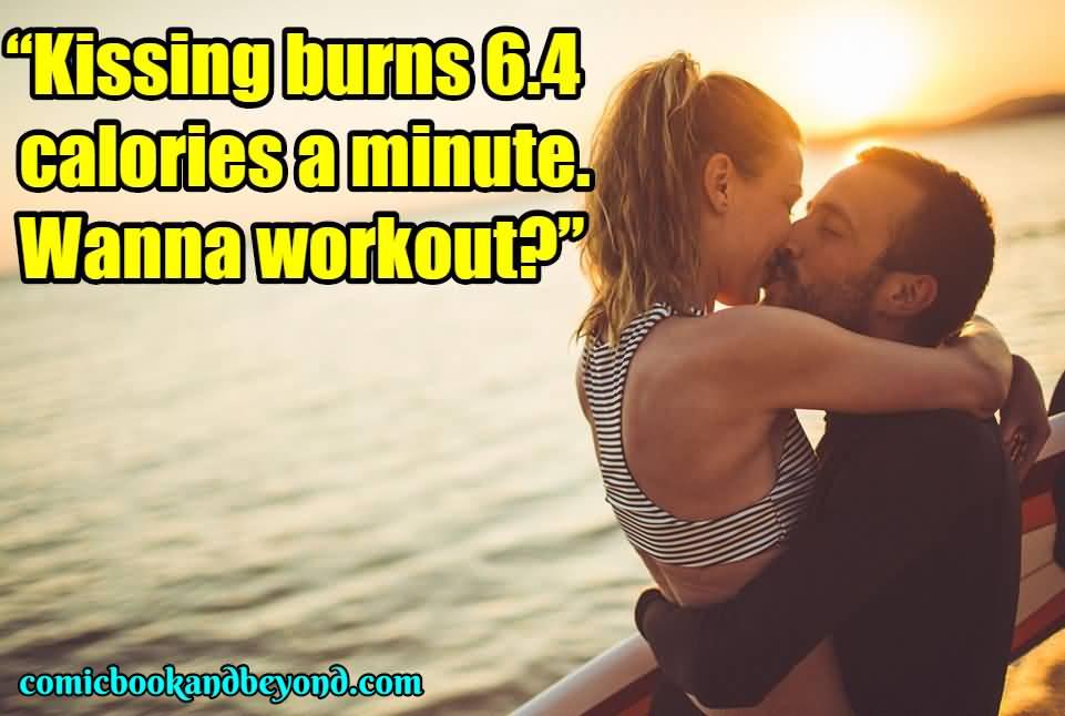 Kissing Burns 6.4 Calories