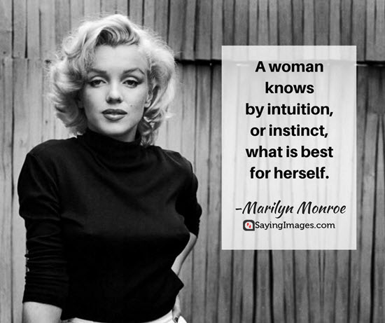 Marilyn Monroe Quotes A Woman Knows By