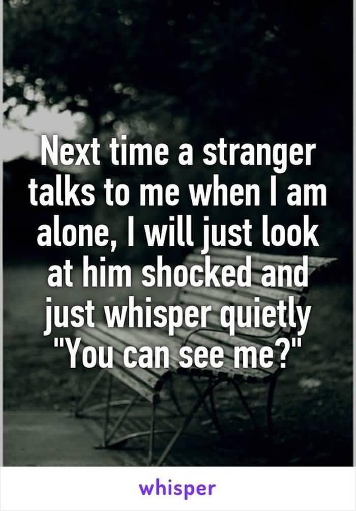 Next Time A Stranger