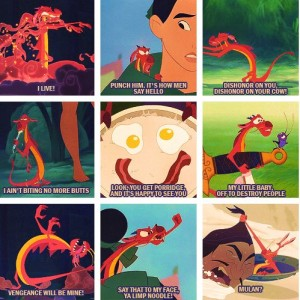 Say That To My Mushu Quotes