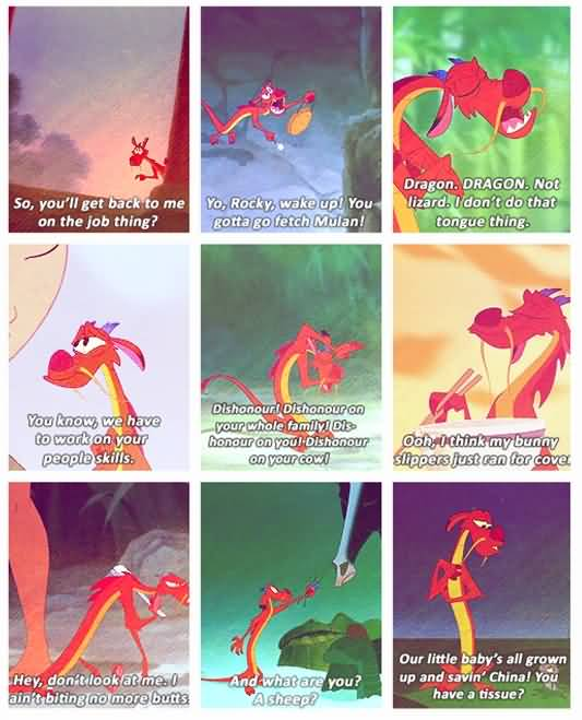 So You'll Get Back Mushu Quotes
