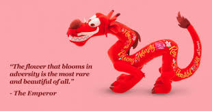 The Flower That Blooms Mushu Quotes