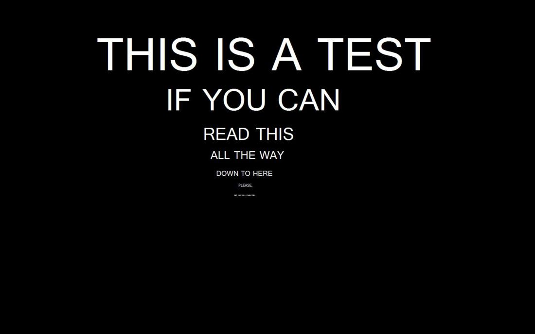 This Is A Test Funny Quotes