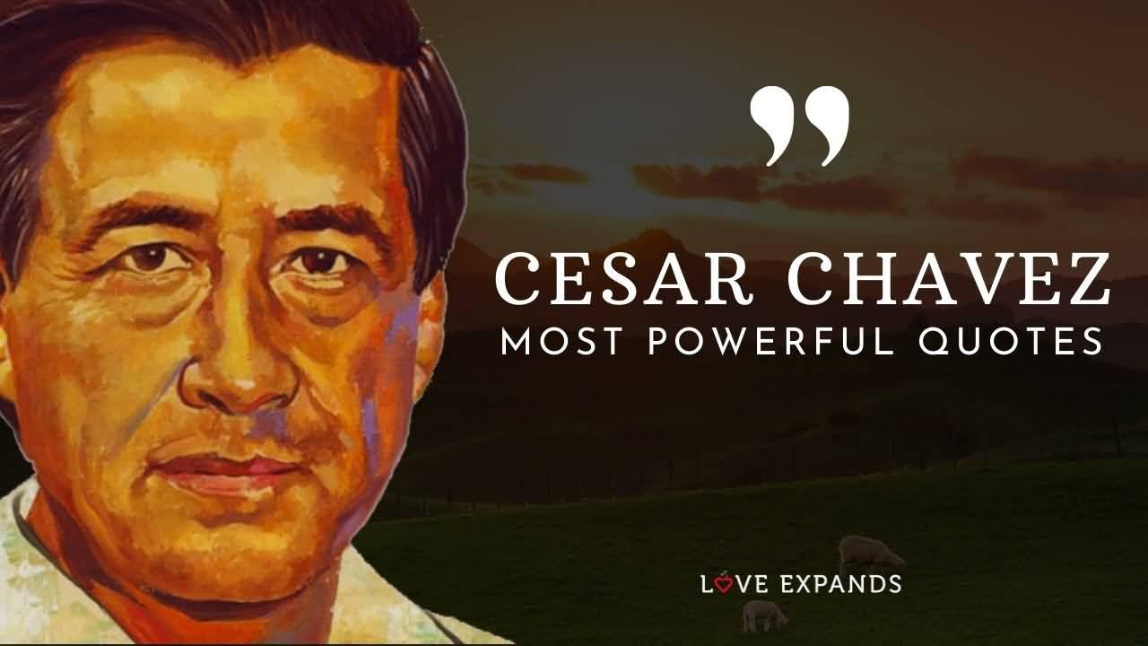 Cesar Chavez Most Powerful Cesar Chavez Quotes