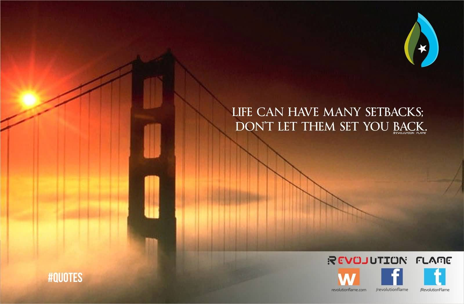 Life Can Have Many Bridge Quotesc