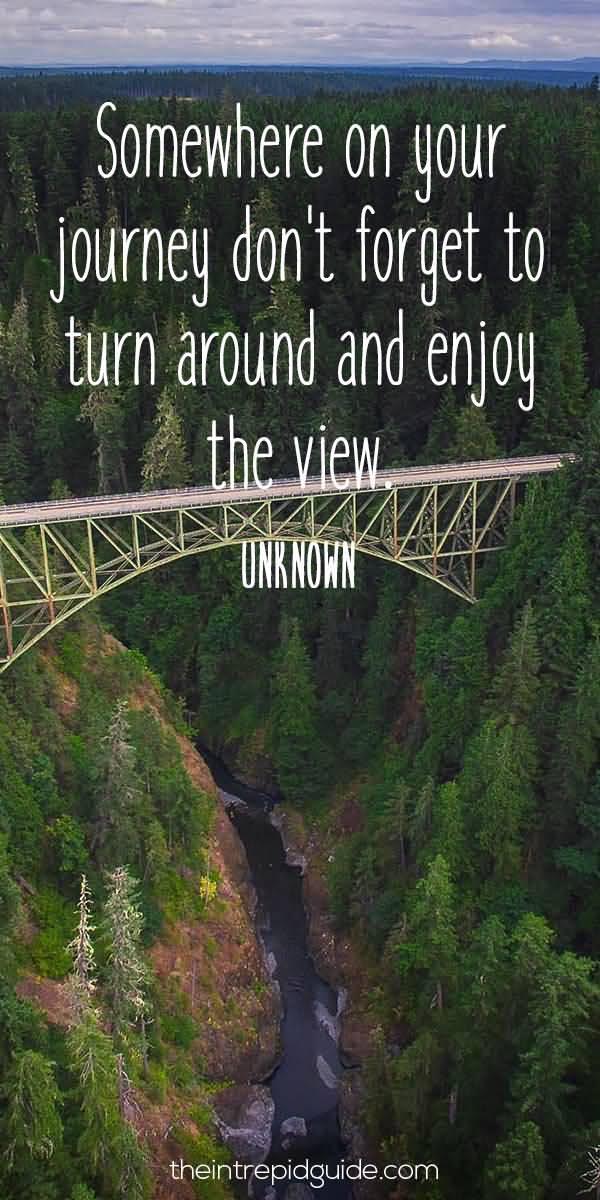 Somewhere On Your Journey Bridge Quotes